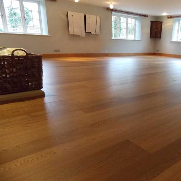 Solid Wood Flooring White Oak Parquet