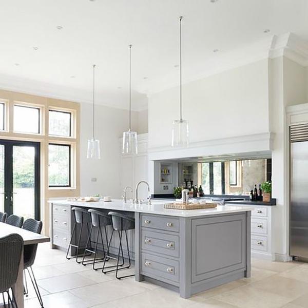 Byron Burford Design Kitchen High Ceiling